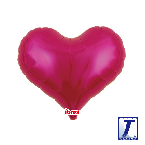 14 Jelly Heart Metallic Magenta (ibrex)""