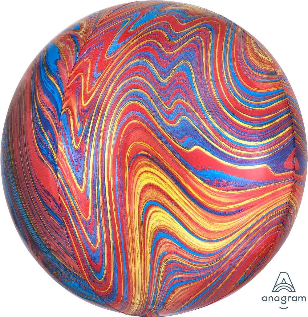 "15"" ORBZ Colorful Marblez"
