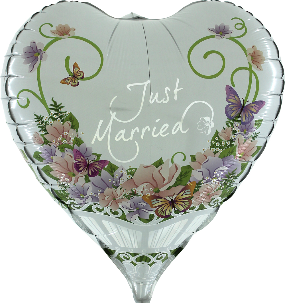"23"" Herz Flowers Bouquet 3D"