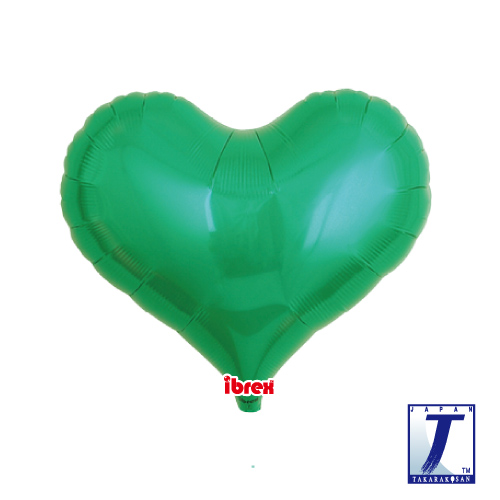 14 Jelly Heart Metallic Green (ibrex)""