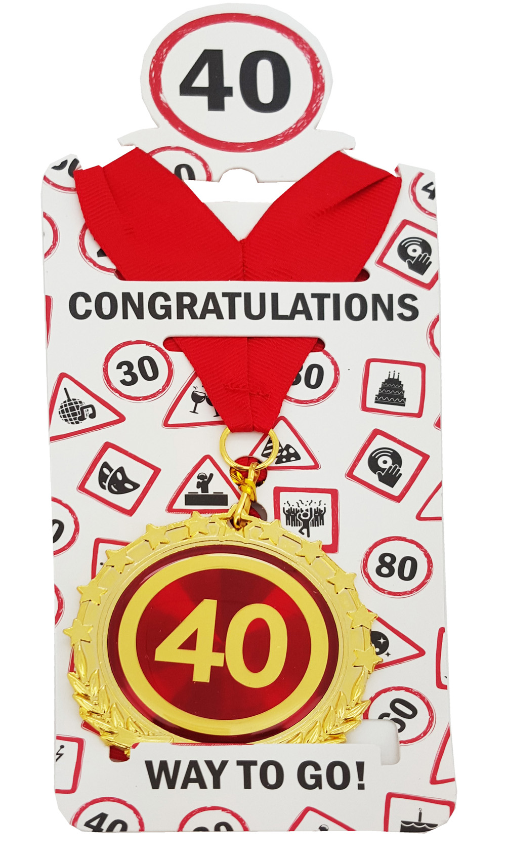 """Medaille """"40"""""""