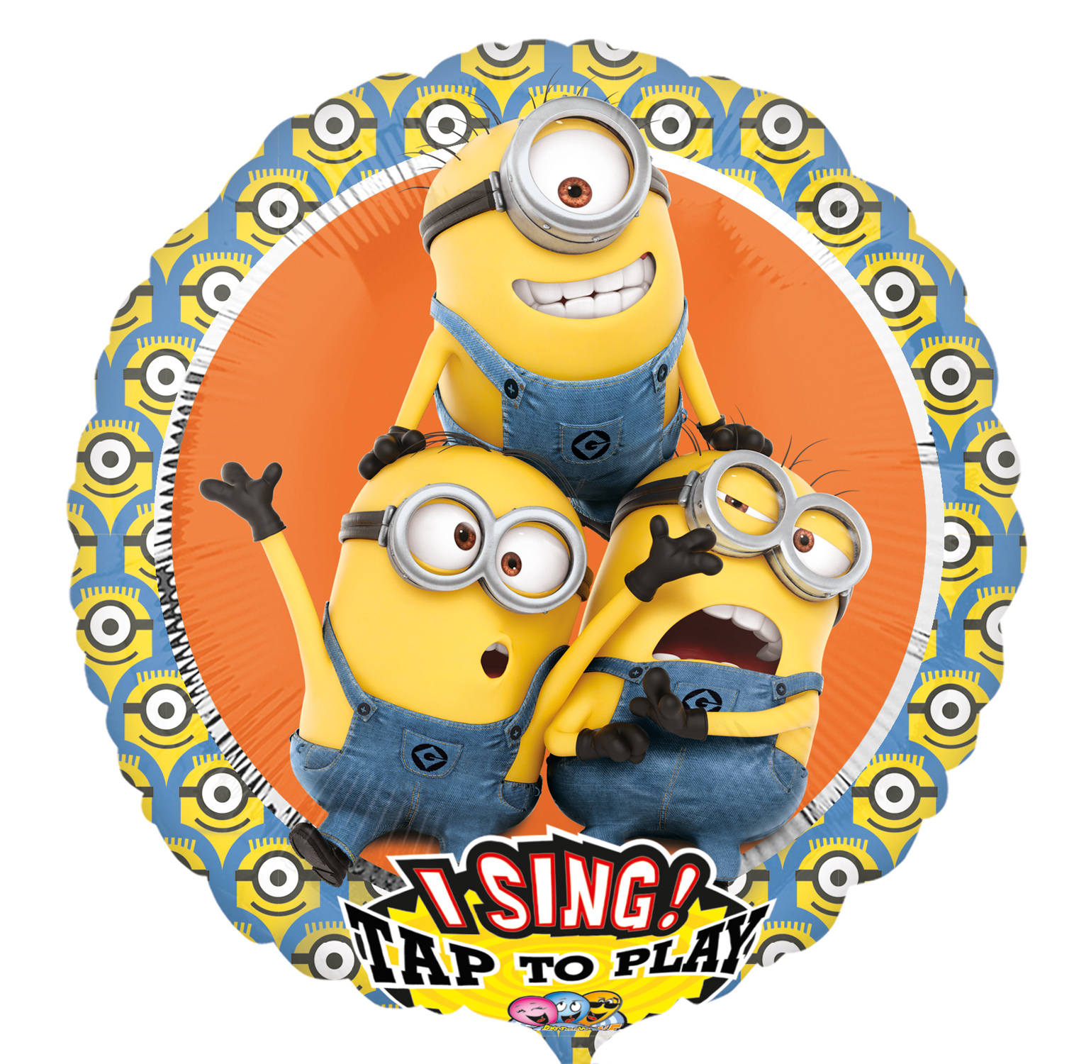 """28"""" Singing Balloon Despicable Me Minions"""