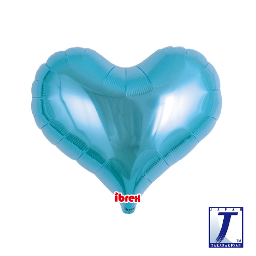 14 Jelly Heart Metallic Light Blue (ibrex)""