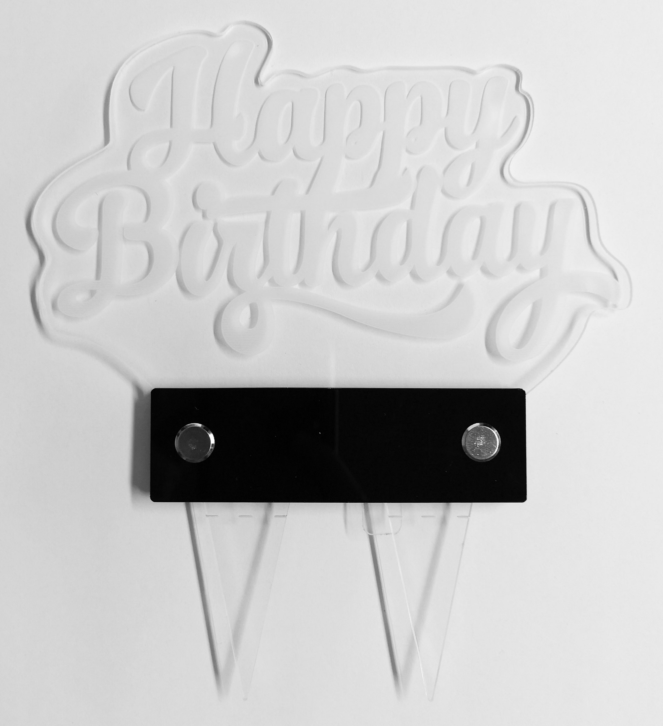 LED Cake Topper Happy Birthday