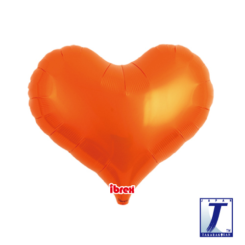 14 Jelly Heart Metallic Orange (ibrex)""
