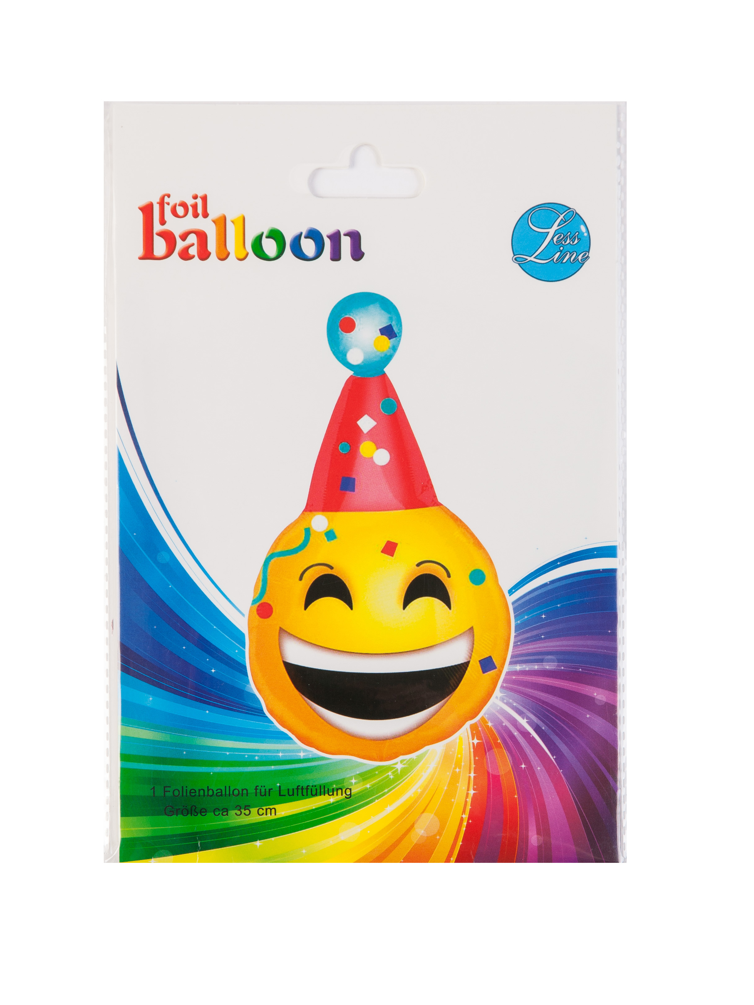 "14"" Clown Smily party with stick and cup"