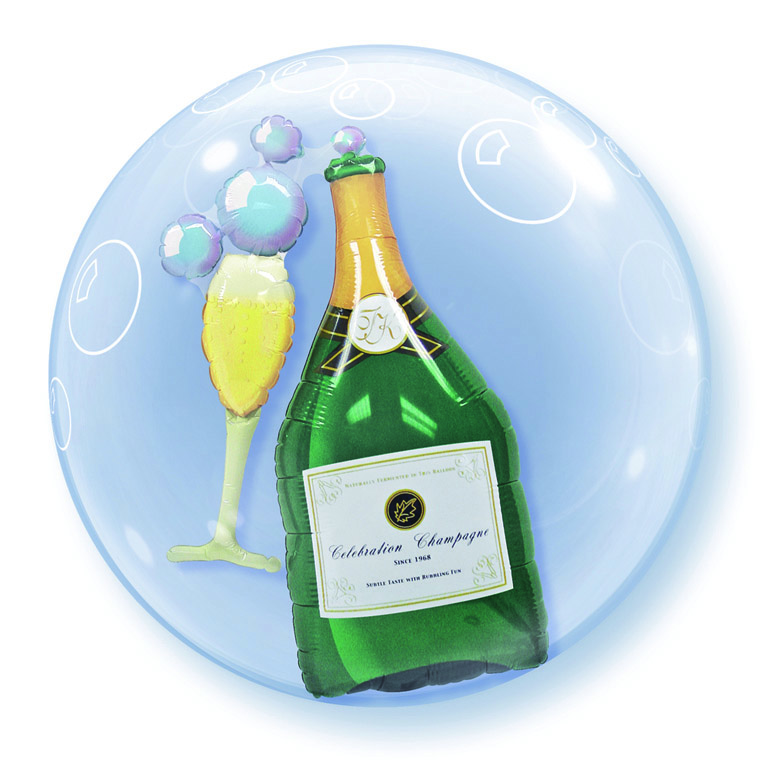 "24"" Double Bubble Bubbles Sekt"