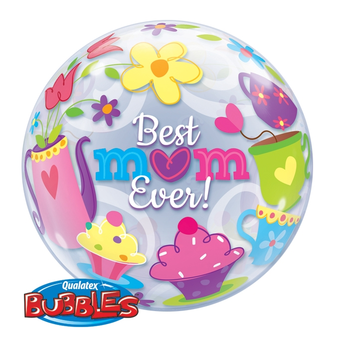"22"" Single Bubble ""Best Mum Ever!"""