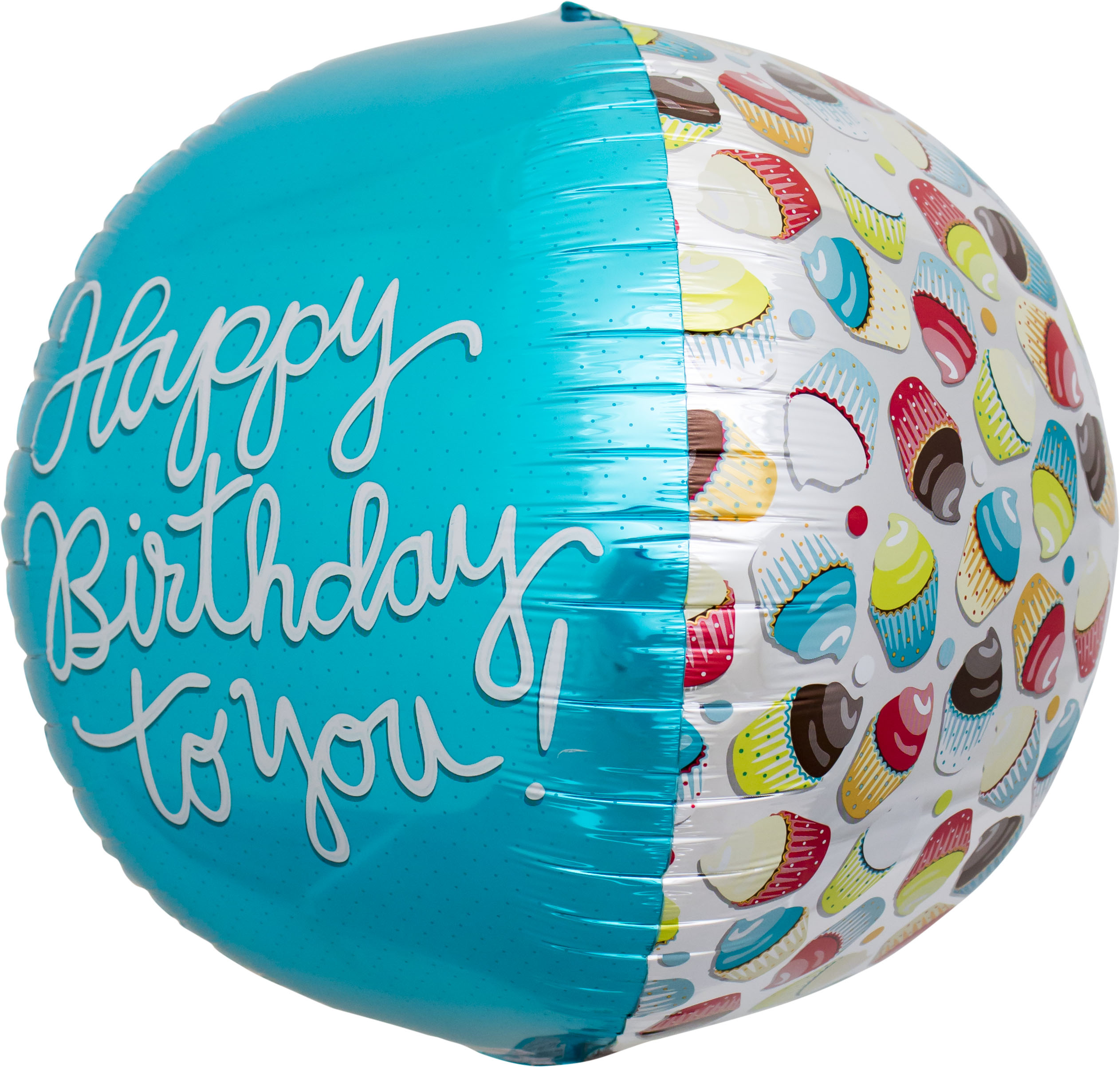 "17"" H.B. to You Cupcake Sphere"