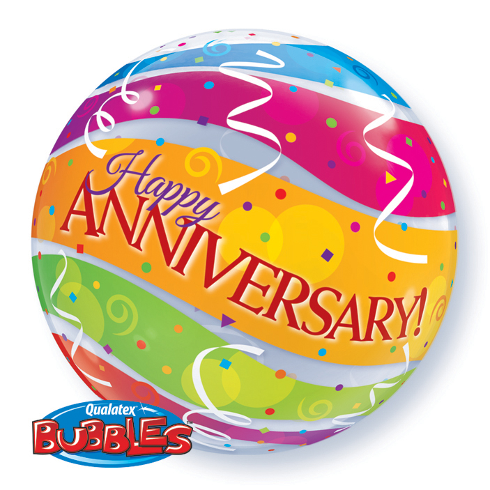 "22"" Single Bubble Anniversary"