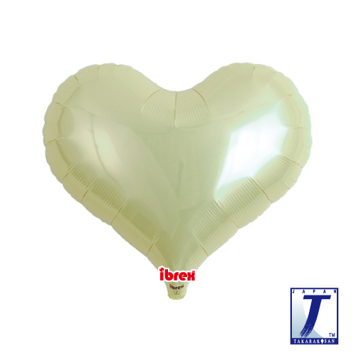 14 Jelly Heart Metallic Ivory (ibrex)""