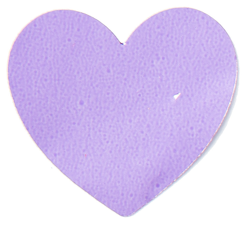 Folienkonfetti Herz 3cm light purple 15gr